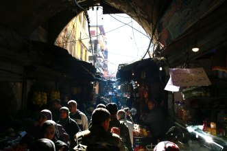 Market in Tripoli, Northern Lebanon